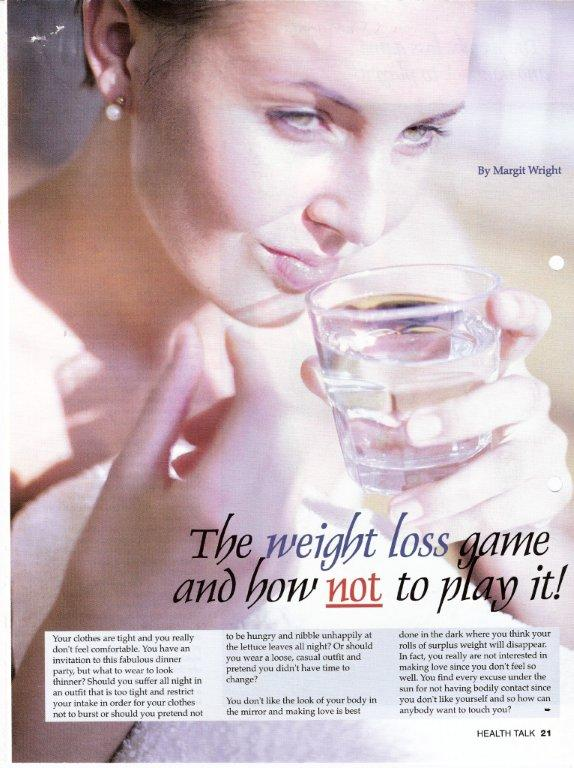 The weight loss game and how not to play it - Health Talk
