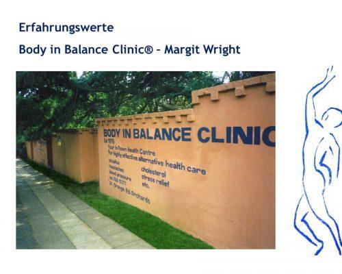 Erfahrungswerte Body in Balance Clinic 2